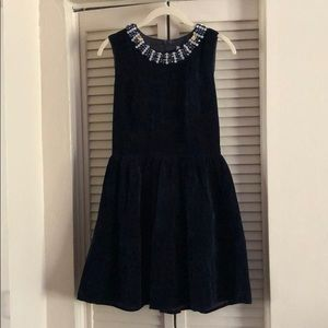 Beaded Velvet dress NWT